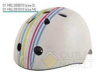 Детский велосипедный шлем Bellelli цвет: белый размер: m (51-54 см)
