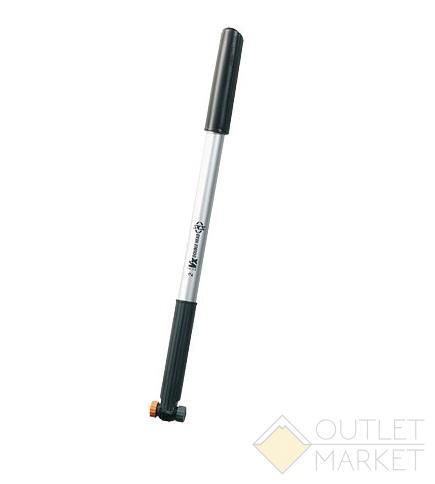 Насос ручной мини SKS VX NR 2 пластик. размер 400-450 мм. максимальное давление: 6 bar под ниппель: av (schrader) sv (presta) dv(dunlop)