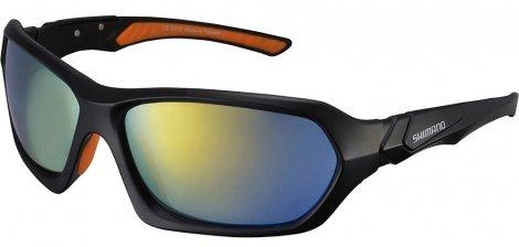 Велоочки Shimano CE-S41X матовые. черн/оранж ECES41XMLD
