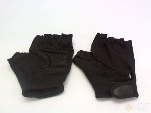 Велосипедные перчатки TBS кож низ бел с наполнит верх-лайкра обрез пальцы цветн размер: l