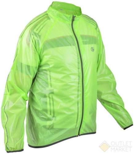 Велокуртка/дождевик AUTHOR RAIN DINTEX салатовая на молнии