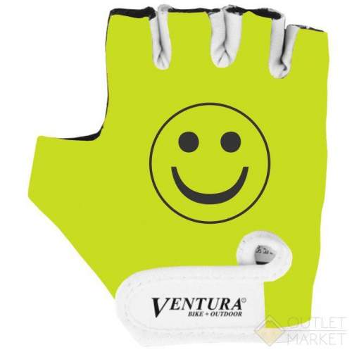 Перчатки VENTURA детские лайкра антискольз. неоново-желтые NEW