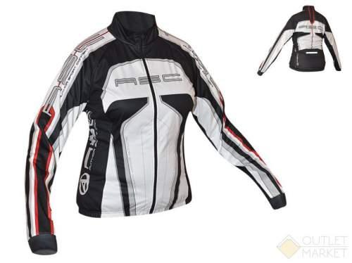 Велокуртка AUTHOR женская 12В Lady Sport Blazer утепл. черно-бело-красная
