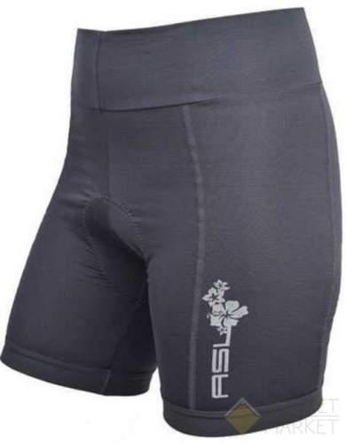 Велошорты AUTHOR женские ASL-4 Comfort Pas Crn с памперсом широк. пояс черные