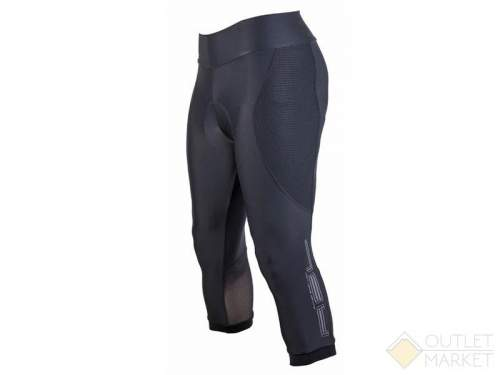 Велошорты/бриджи AUTHOR женские Lady Sport X8 с памперсом черные
