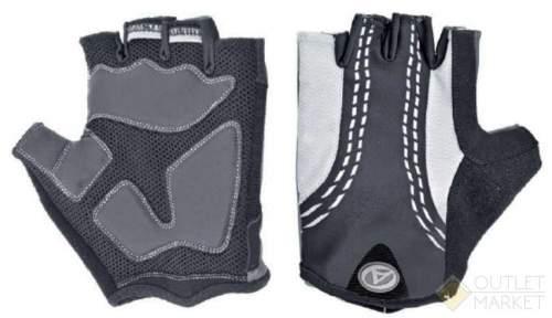 Перчатки AUTHOR PalmAir черные гель/лайкра/синт. кожа с петельками
