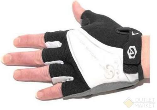 Перчатки AUTHOR Lady Comfort Gel черно-бело-серые гель/лайкра/синт.кожа с петельк.