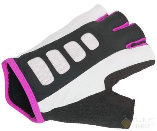 Перчатки AUTHOR Lady Sport Gel X6 жен. черно-розовые гель/лайкра/синт. кожа с петельками