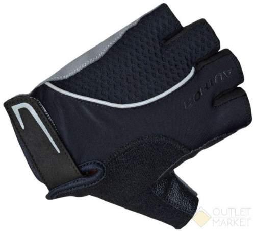Перчатки AUTHOR Team X6 черные синт. кожа/неопрен с петельками