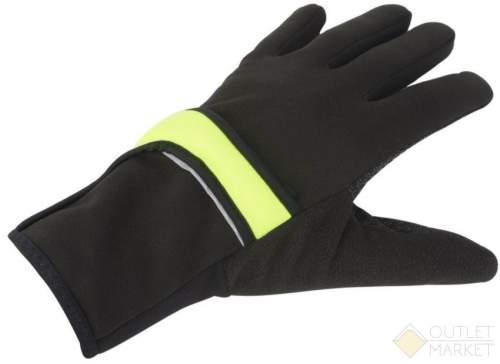Перчатки AUTHOR длин. Windster Shell X7 2в1 утепл. облегч. черн-неонов. лайкра/флис