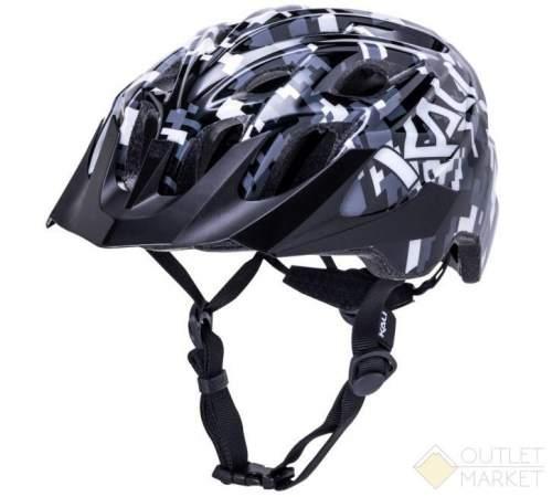 Шлем KALI KIDS CHAKRA YOUTH Pixel Blk 21отв. 245г. ЧЕРНЫЕ ПИКСЕЛИ