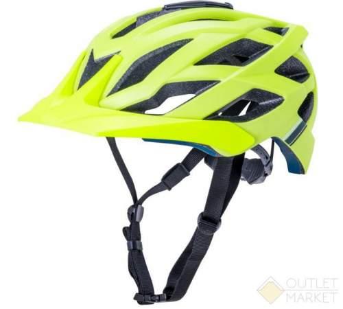 Шлем KALI ENDURO/MTB LUNATI 25отв. MatFluoYlw с крепл. камеры,ярко-жёлт