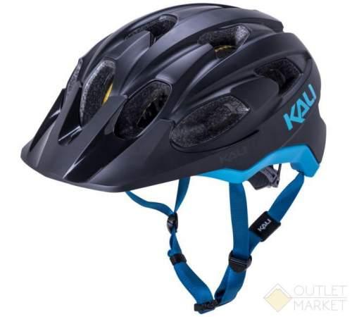 Шлем KALI TRAIL/MTB PACE 15 отв. Mat Blk/Blu черн-голуб. LDL CF