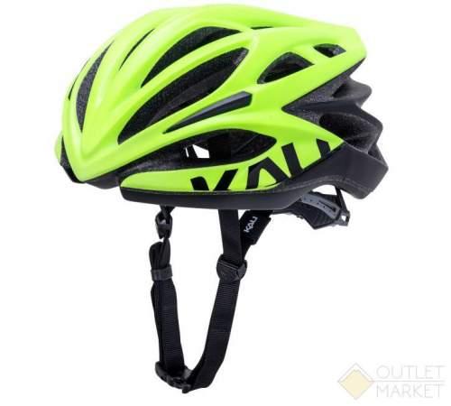Шлем KALI ШОССЕ/ROAD LOKA 21 отв. Mat Fluo Ylw/Blk желто-черный 250гр CF