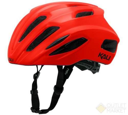 Шлем KALI ШОССЕ/ROAD PRIME 21 отв. Mat/Red матовый красный. 270гр CF