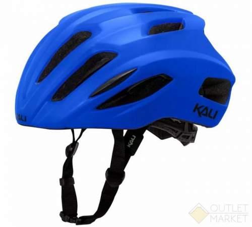 Шлем KALI ШОССЕ/ROAD PRIME 21 отв. Mat/Blk матовый синий. 270гр CF