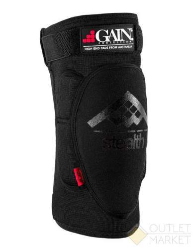 Защита GAIN на колени STEALTH Knee Pads черн.