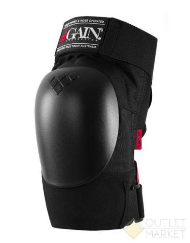 Защита GAIN на колени THE SHIELD hard shell knee pads черн.