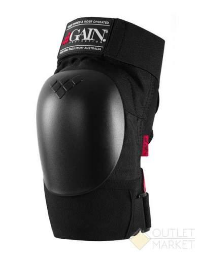 Защита GAIN на колени детск. THE SHIELD hard shell knee pads черн.