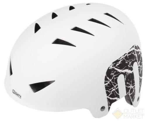 Шлем MIGHTY универс/ВМХ/FREESTYLE 14отв. ABS-суперпрочн. белый матовый X-STYLE