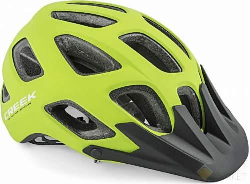 Шлем AUTHOR спорт. CREEK HST 163 17отв. ABS HARD SHELL/EPS мат.-зелено-черный