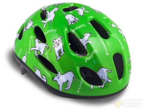 Шлем AUTHOR с сеточкой Floppy 141 Grn детский 16отв. Зеленый