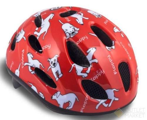 Шлем AUTHOR с сеточкой Floppy 142 Red детский 16отв. Красный