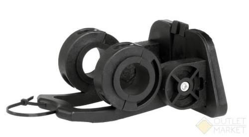Адаптер VENTURA для быстро съемной корзины и сумки на руль 22,2-31,8 мм