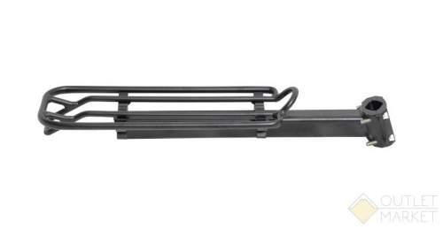 Багажник OSTAND CD-28 алюминиевый подседельный до 15 кг для штыря 25,4-31,8 мм