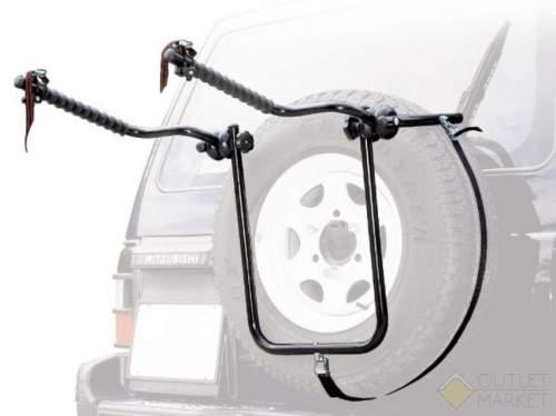 Багажник PERUZZO BIKE CARRIER автомобильный для перевозки велосипедов на запаску 4x4 для 2-х велосипедов