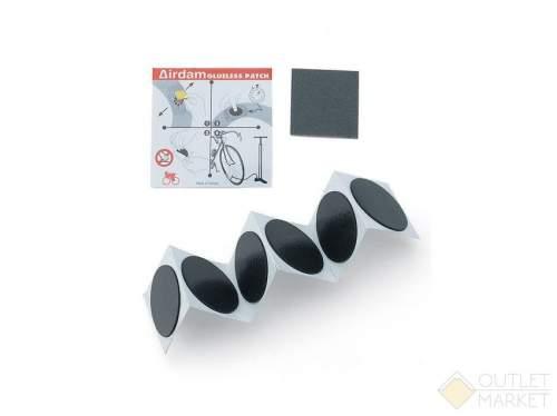 Велосипедная аптечка AUTHOR 6 заплаток-самоклеек