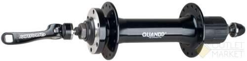 Втулка задняя QUANDO KT-SL4R для FATBIKE алюминиевая 36 отверстий под диск 8/9/10 скоростей QR 170 мм
