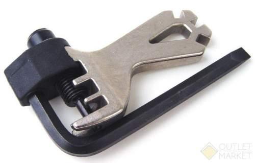 Выжимка цепи AUTHOR с шестигранником отверткой и захатом для спиц