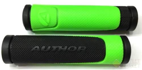 Грипсы AUTHOR AGR-600-D3 130 мм резиновые 2-х компонентные