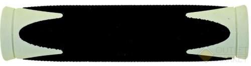 Грипсы VELO 130 мм резиновые 2-х компонентные
