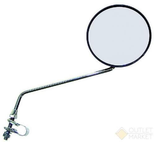 Зеркало велосипедное USPORTS плоское круглое D=105 мм