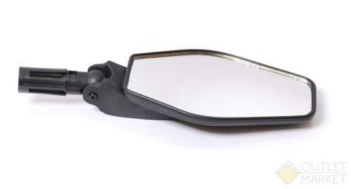 Зеркало велосипедное USPORTS ромб плоское 3 степени свободы торцевое крепление
