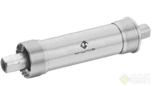 Каретка M-WAVE для FAT BIKE  120 мм 179,5/28,7 мм c адаптером 2,5 мм герметичные подшипники