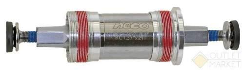 Каретка NECO Cr-Mo алюминиевые чашки герметичные подшипники 115 / 23 мм