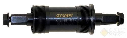Каретка NECO чашка левая-сталь правая-пластик 122,5 / 28,5 мм