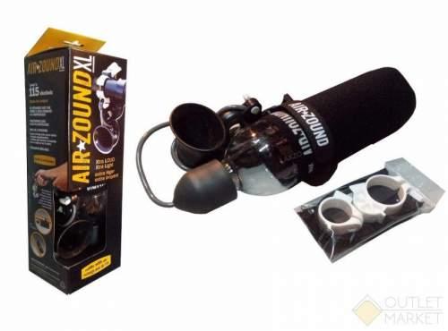 Клаксон велосипедный AIR ZOUND XL пневматический 115Дб в чехле с креплением