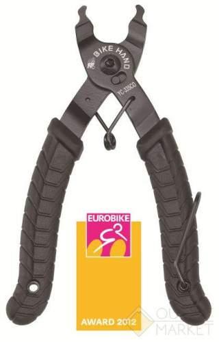 Клещи BIKEHAND YC-335CO для замыкания и размыкания замка цепи антискользящие рукоятки