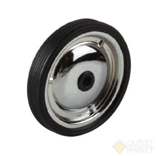 Колеса балансирные запасные пара без крепежа металлические 128 мм хромированные