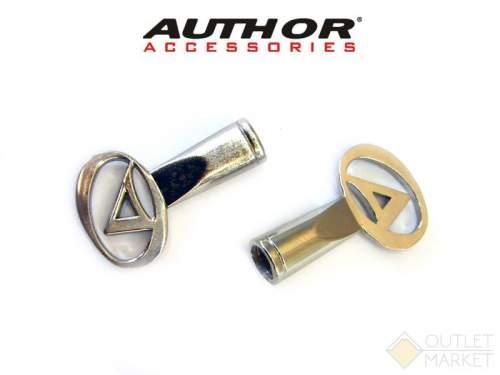 Колпачки для ниппеля AUTHOR спортивный ниппель алюминиевый с логотипом