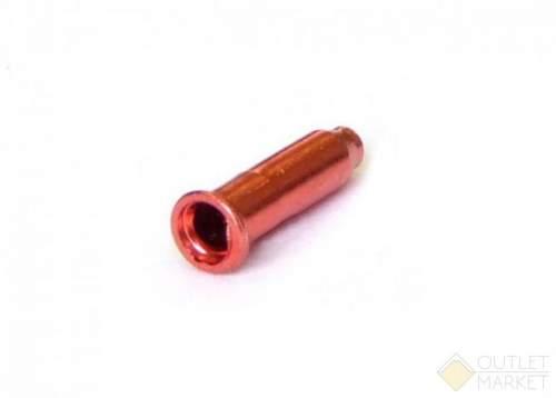 Концевик троса CLARK`S на тросики универсальные алюминиевые красные