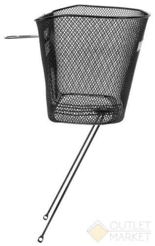 Корзина велосипедная передняя 34х25х25/22 см для вилки 1 1/8 на 26-28 сталь