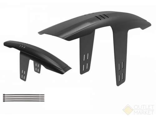 Крыло велосипедное щиток AUTHOR X-Flap пластиковое 26-29 переднее на раму быстро съемное