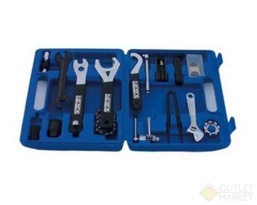 Набор инструментов TECH GHT-055 универсальный 18 позиций профи в кейсе