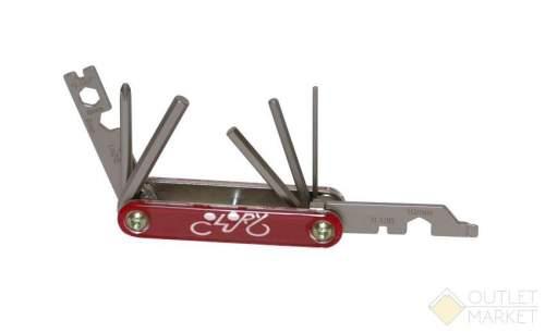 Набор шестигранников складной +/- отвертки ключи рожковые 8/9/10 мм захват для спиц 3 размера