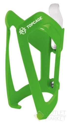 Флягодержатель 0-11184 TopCage SKS-11184 высокопрочный пластик зеленый (Германия)